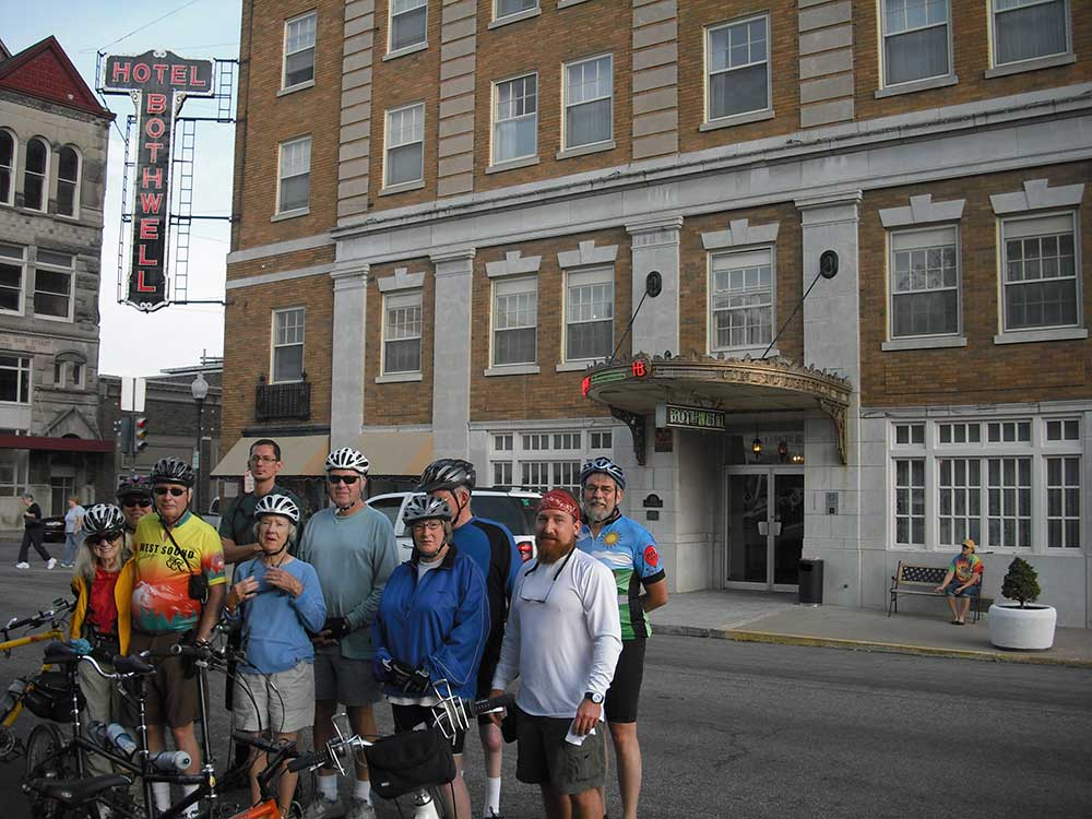 Katy Trail Bike Tour Group